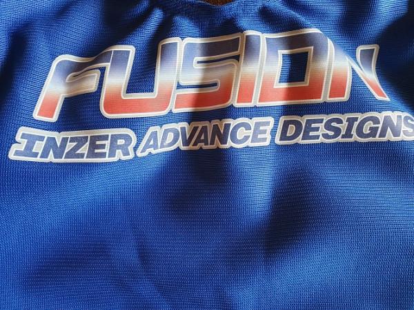 Inzer - Fusion - Kreuzheberanzug - blau
