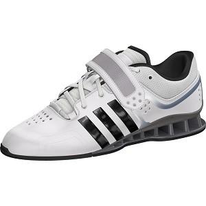Gewichtheberschuh Adidas Adipower weiß