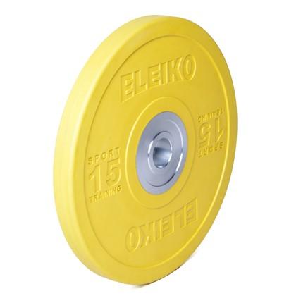 Eleiko - Sport Training - Hantelscheibe - 15,0 kg - gelb