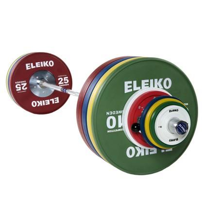Eleiko - Gewichtheben - Wettkampf - Hantelsatz - Männer - 190,0 kg Friction Grip