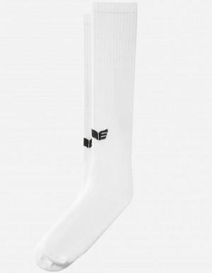 Kreuzheberstrümpfe - Deadlift - Tube Socks - Erima - weiß