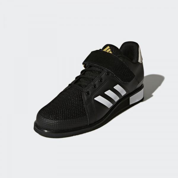 Gewichtheberschuh Adidas Power Perfect III schwarz