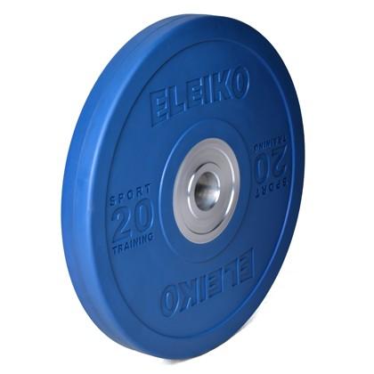 Eleiko - Sport Training - Hantelscheibe - 20,0 kg - blau