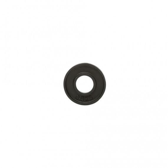 Hantelscheibe - Guss - 51 mm - 0,5 kg