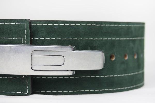 Inzer - Lever Belt - dunkelgrün/forest green/vert foncé - 10 mm