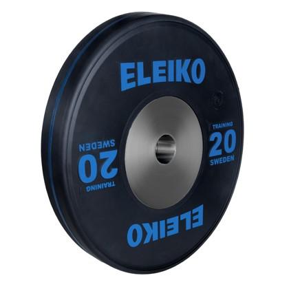 Eleiko - Sport Training - Hantelscheibe - 20,0 kg - schwarz