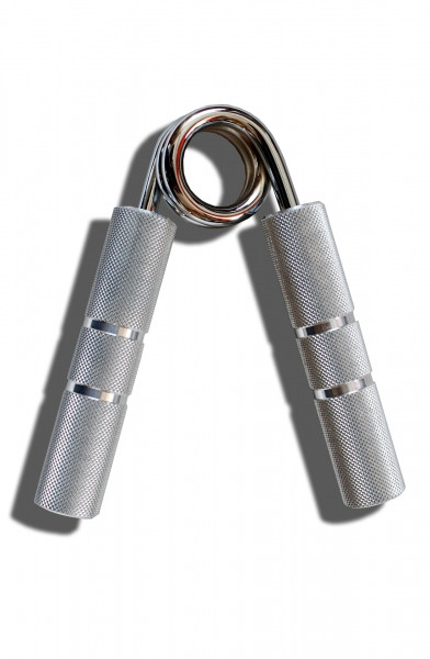 Handgripper - Aluminium mit verchromter Feder