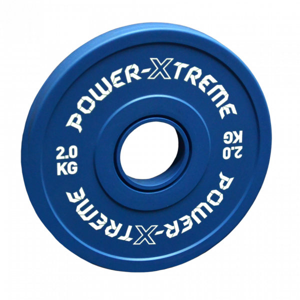 Power X-TREME Frictional Disc gummiert - 50 mm - blau - 2 KG
