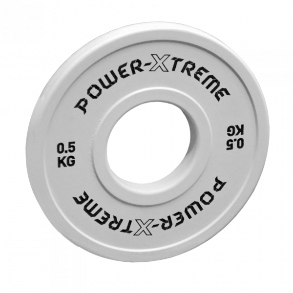 Power X-TREME Frictional Disc gummiert - 50 mm - weiß - 0,5 KG