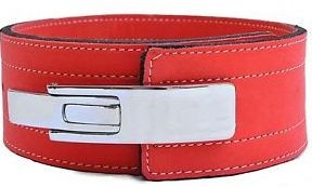 Inzer - Lever Belt - rot/red/rouge -10 mm
