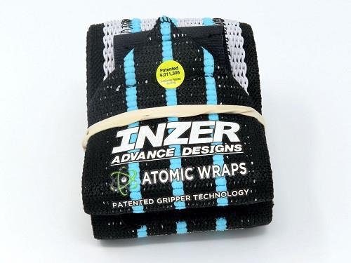 Inzer - Atomic Wrist Wraps - blue ice