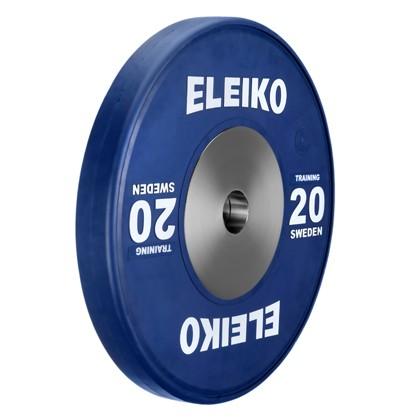 Eleiko - Gewichtheben - Training - Hantelscheibe - 20,0 kg - blau