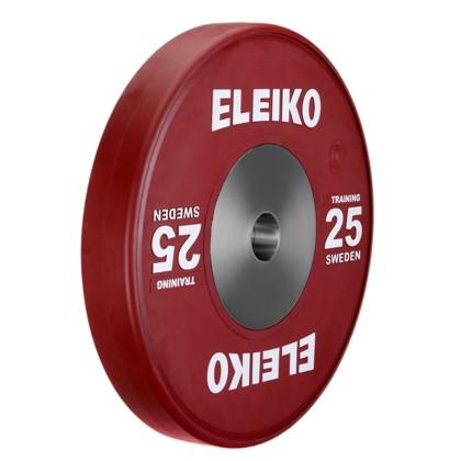 Eleiko - Gewichtheben - Training - Hantelscheibe - 25,0 kg - rot