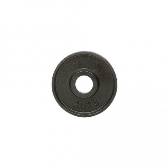 Hantelscheibe - Guss - 51 mm - 2,5 kg