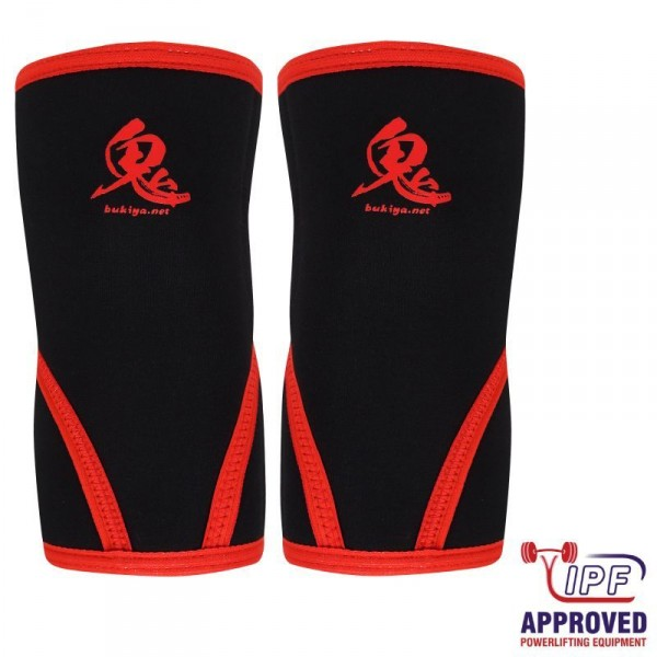 Bukiya Oni Knee Sleeves schwarz - IPF approved