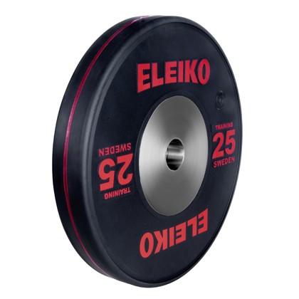 Eleiko - Sport Training - Hantelscheibe - 25,0 kg - schwarz