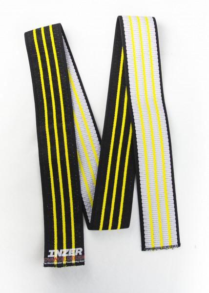 Inzer - Atomic Knee Wraps - yellow / gelb