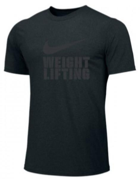 Nike Weightlifting Shirt schwarz/grau