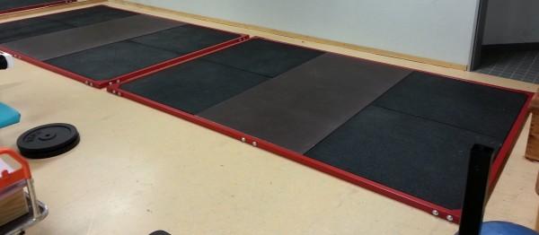 Rahmenteile für Gewichtheber-Kraftdreikampfplattform