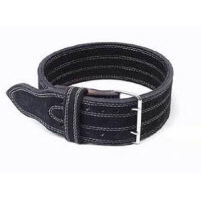 Inzer - Buckle Belt - Double Prong - schwarz/black/noir - 13 mm