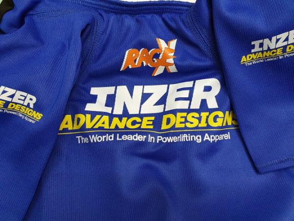 Inzer - Rage X - Bankdrückshirt - blau