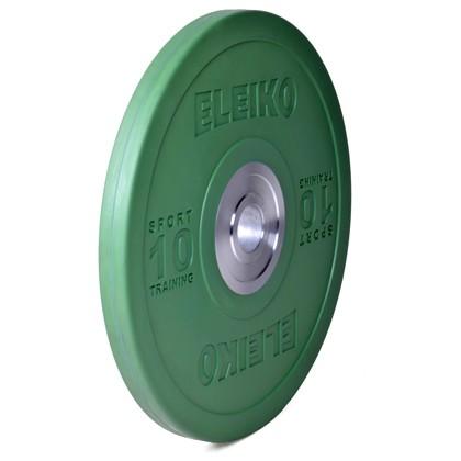 Eleiko - Sport Training - Hantelscheibe - 10,0 kg - grün