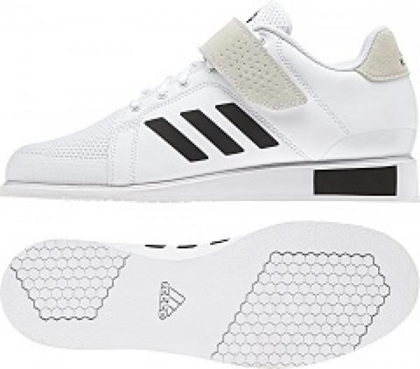Gewichtheberschuh Adidas Power Perfect III weiß