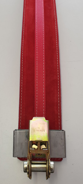 Inzer - PR Belt - rot/red - 13 mm