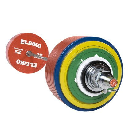 Eleiko - Powerlifting - Wettkampf - Hantelsatz 435,0 kg mit IPF-Zertifizierung