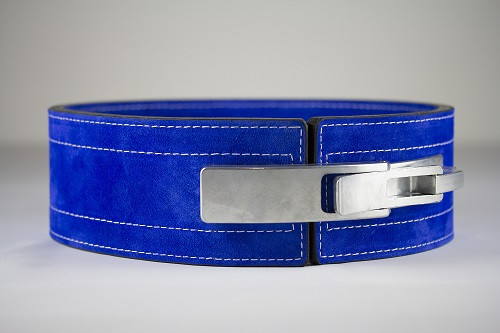 Inzer - Lever Belt - blau/blue/bleu - 10 mm