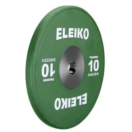 Eleiko - Gewichtheben - Training - Hantelscheibe - 10,0 kg - grün