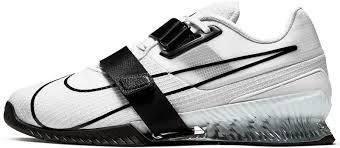 Gewichtheberschuh Nike Romaleos 4 weiß/schwarz