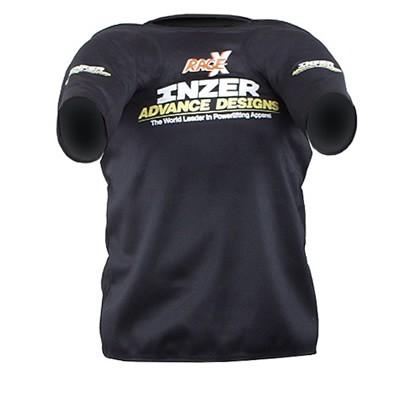 Inzer - Rage X - Bankdrückshirt - schwarz Gr. 36