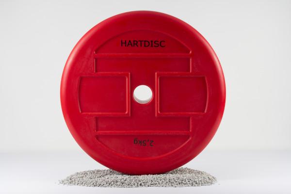 Hartdisc Technikhantelscheibe 2,5 kg