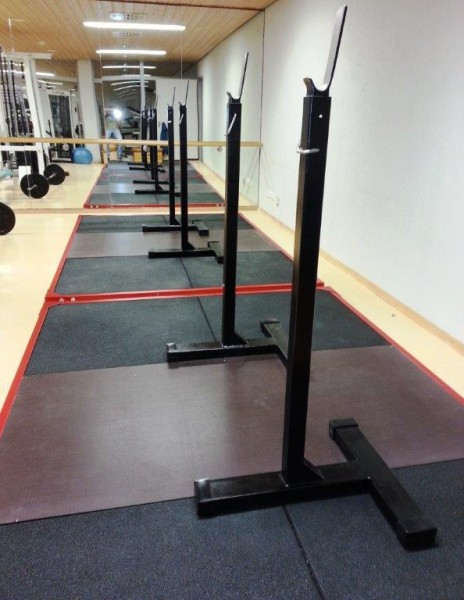 Gewichthebertrainingsplattform 3,08m x 2,08m